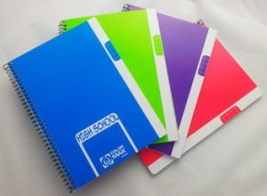 A5 Custom Printed Spiral Exercise Notebook pictures & photos