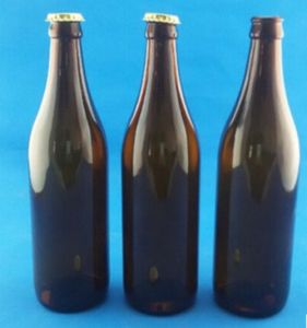 Empty Beer Bottle/ Amber Glass Bottle/ Beer Glass Packaging pictures & photos