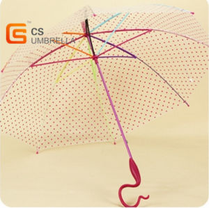 Special Handle Colorfull Shaft and Ribs Poe Umbrella (YS-T1003A)