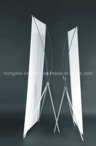 Hot Sale X Banner Display Stand with Model F pictures & photos