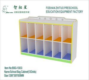 China School Bag Cabinet Preschool Cabinet Kindergarten Storage