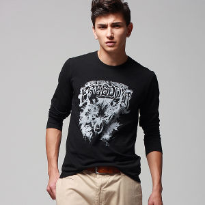 Printed Men′s T-Shirt (CM162)