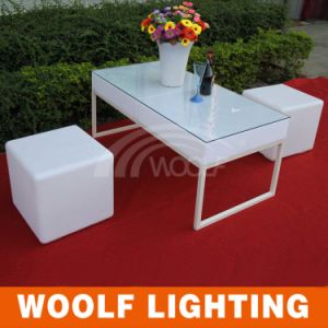 Modern Outdoor Colorful Bar LED Garden Furniture