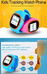 Waterproof GPS Kids Tracker Kids Smart Watch Small Gifts with Food Grade Silicone