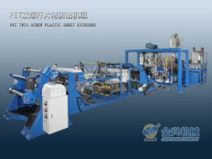 Pet Twin Screw Sheet Extrusion Machine pictures & photos