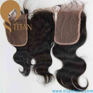 5A Remy Human Virgin Hair Lace Top Closure