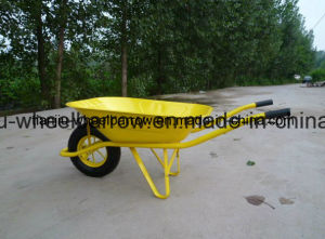 Wheel Barrow Wb6400 with Air Wheel pictures & photos