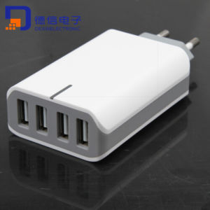 High Quality 4 Ports USB Charger for Mobilephone Pad
