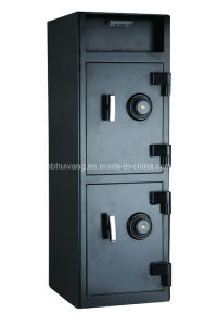 Cash Management Depository Safe with Double Doors pictures & photos
