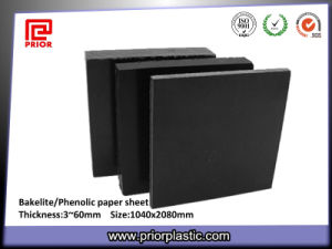 Black Phenolic Paper Sheet with Factory Price pictures & photos