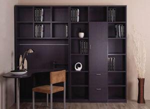 China Dark Purple Book Shelf With Corner Study Table China Open