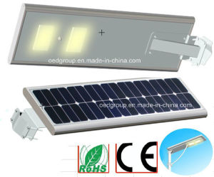 25W LED Solar Power Street Light with Solar Panel and Lithium Battery with Bridgelux LED pictures & photos