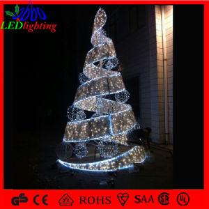 led holiday decoration pvc spiral christmas tree light - Led Spiral Christmas Tree