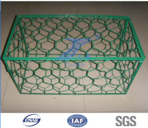 Hot Dipped Galvanized Welded Stone Cage pictures & photos