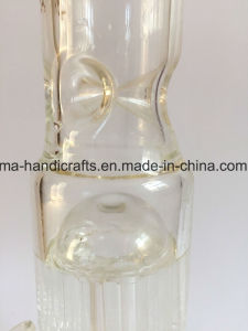 16 Inch Arm Tree Percolator Clear and Straight Glass Smoking Water Pipes pictures & photos