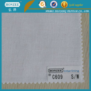 china cotton interlining double sided adhesive fusing interlining