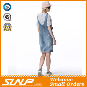 2016 Girl Fashion Denim Overall Dress