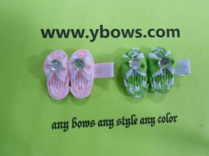 Small Slippers Hair Clip for Toddlers