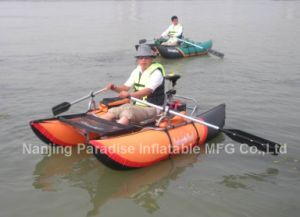 Inflatable PVC Fishing Kayak Fit with Motor Fishing Gear