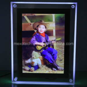 Table-Top Crystal LED Light Box for Advertising (CST01-A5P-01) pictures & photos