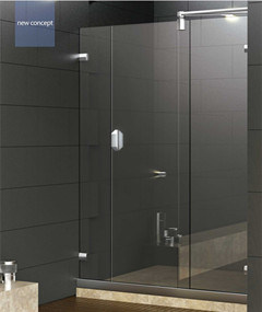 New Design Stainless Steel Profile Shower Doors Hs-2863