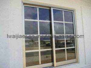 Aluminum Sliding Window With Grids (Zxjh008) pictures & photos