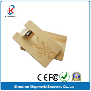 Newest Wooden Card USB Stick 1/2/4GB