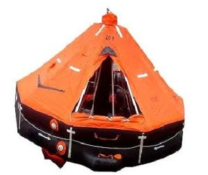 Solas Standard Ec Approved Marine Life Saving Equipment Davit-Launching Inflatable Life Rafts pictures & photos