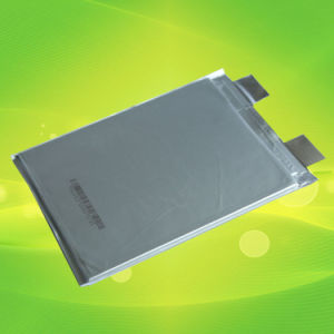 Slim Rechargeable Li-Polymer Battery Cell (20Ah, 3.2V, UL, CE) pictures & photos