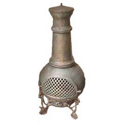 Cast Iron Chiminea (FSL016) Firepit BBQ Chimenea