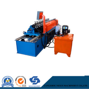 Steel Double C and U Shape Roll Making Line Light Steel Stud Frame Form Machine to Make Drywall Profiles