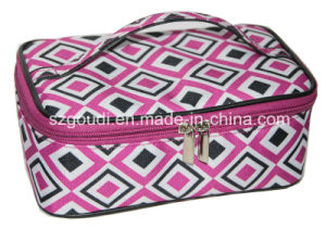 Geometric Fashion Cute Travel Packing Cosmetic Case