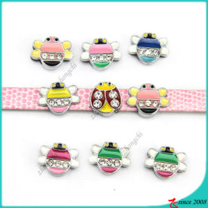 Animal Bee Charms for 8mm Leather Bracelet Charms (SC16040953)
