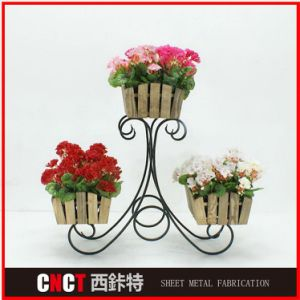 Precision Custom Metal Metal Flower Stand pictures & photos