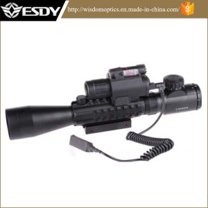 3-9X40e DOT Airsoft Riflescope with M6 Laser Sight pictures & photos
