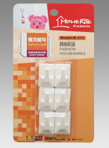 Plastic Adhesvie Hook (HK012) for Household Products