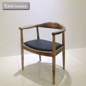 Attirant Stackable Wooden Dining Chair / Hans Wegner Elbow Chair (CY033#)