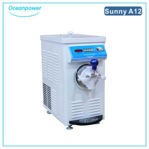 Mini Soft Ice Cream Machine (Oceanpower Sunny A12) pictures & photos