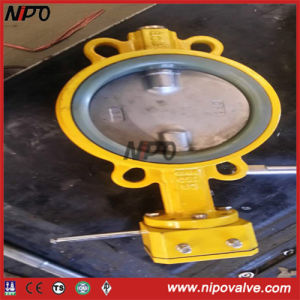 Manual Operation Wafer Type Centre Sealing Butterfly Valve pictures & photos