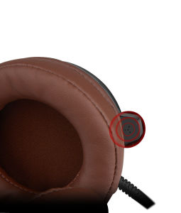Noice Cancelling Wire PC Headset with Mic (K-V1) pictures & photos