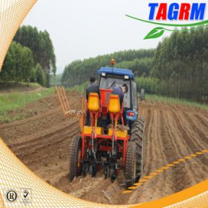 Two Rows Cassava Seed Planting Machine Ridging Type!