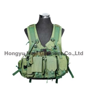Military Gear Green Molle Tactical Vest for Army (HY-V057)