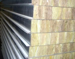 Good Quality Top Selling Rockwool Sandwich Panel pictures & photos