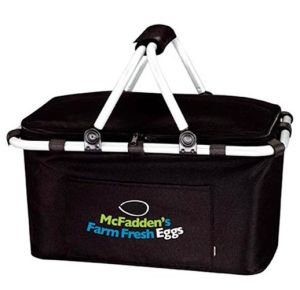 Promotional Custom Collapsible Picnic Basket Cooler Bag pictures & photos