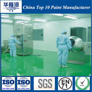 Hualong Static Free Epoxy Floor Paint Floor Coating (HL-800) pictures & photos
