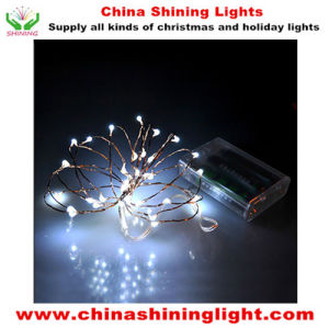 20LED Copper Wire LED Battery Lights in Varies Colors