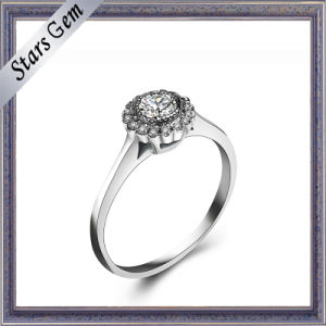 Folwer Shape 925 Sterling Silver Fashion Jewelry pictures & photos