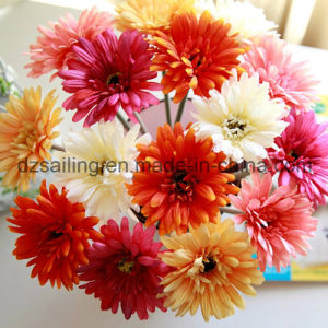 18 Colors High Quality Single Gerbera Artificial Flower (SF10004)