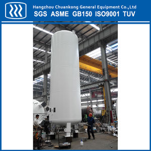 Vacuum Powder Insulation Liquid Oxygen LNG LPG CO2 Storage Tank with ASME Standard pictures & photos