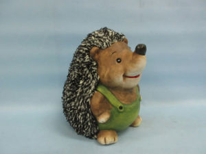 Hedgehog Shape Ceramic Crafts (LOE2537-C17.5)
